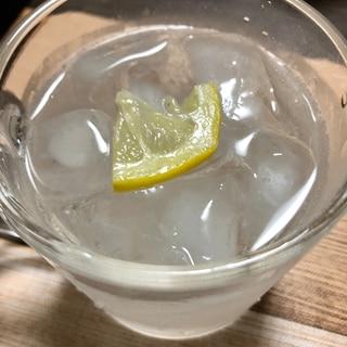 炭酸レモン水