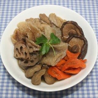 名医のTHE太鼓判☆乾燥野菜で凍みこんにゃくの煮物