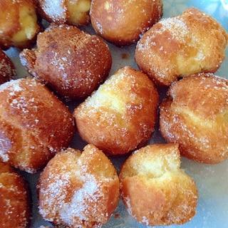 ホットケーキミックスて簡単ドーナツ