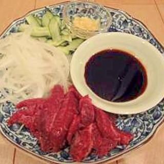 美味☆馬肉の食べ方♪