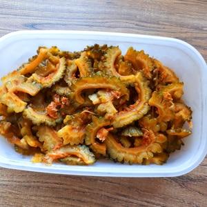 【大量消費/つくおきOK】ゴーヤの中華風サラダ