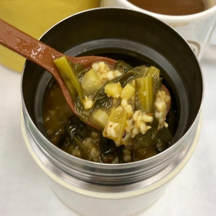 小松菜スパイシーカレー オートミール