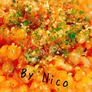ツナ缶とトマトケチャップで作る☆簡単リゾット