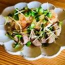 さっぱり!☆焼き豚ポン酢