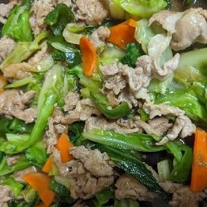 簡単!回鍋肉(ほいこうろう)キャベツの旨みたっぷり