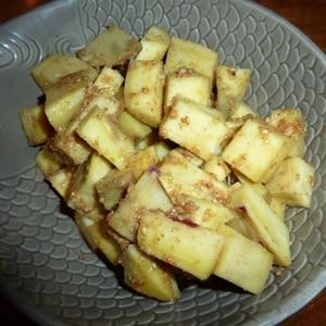 サツマイモの胡麻和え ごま風味もりもり