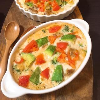 簡単!長芋と牛乳のブロッコリーグラタン 低カロリー