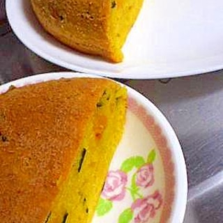 簡単★ホットケーキミックスと炊飯器でかぼちゃケーキ