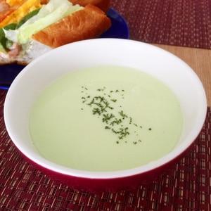 もったりなめらか!枝豆のポタージュスープ