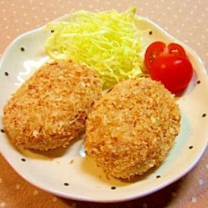 揚げない・焼かない☆里芋のクリーミーコロッケ