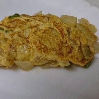 野菜いっぱいオムレツ