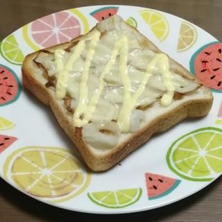 ぽん酢ちくわトースト