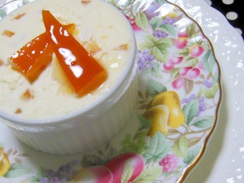 オレンジコンフィとクリームチーズのディツプ