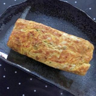 小松菜&納豆たまご焼き