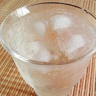 りんご酢ソーダ