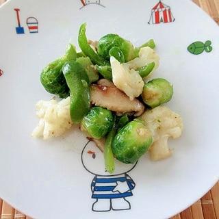 冷凍野菜の野菜炒め