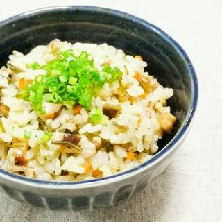 沖縄風炊き込みご飯*クファジューシー