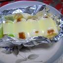 白ねぎの簡単チーズ焼き