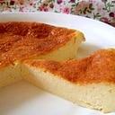 豆乳でヘルシーベイクドチーズケーキ☆