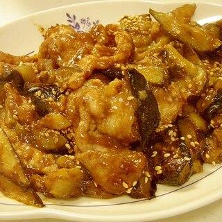 ご飯がすすむ★豚肉と茄子の味噌炒め