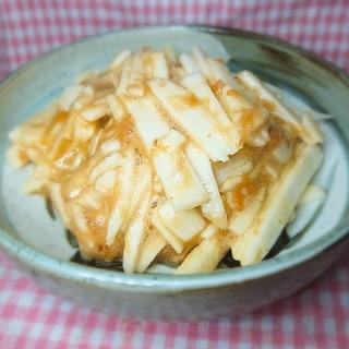 山芋(長芋)の梅肉めんつゆあえ