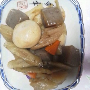 冷凍野菜ミックスで!簡単筑前煮