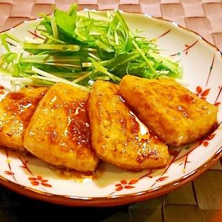 ガーリックバター豆腐