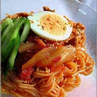 暑さも吹っ飛ぶ! ムンチダレで本格韓国のビビン麺!