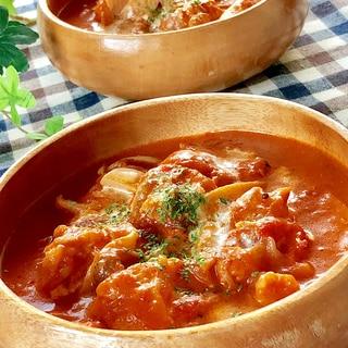 ★チキンのトマトクリーム煮込み★