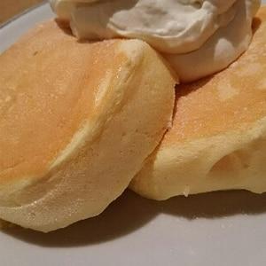 ふわふわ~♡ヨーグルトスフレパンケーキ♪