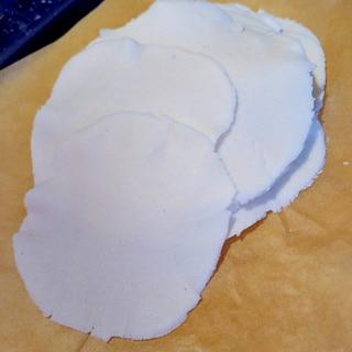 グルテンフリーの餃子の皮