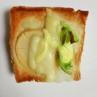 ☆たけのこ☆春キャベツのチーズマヨトースト