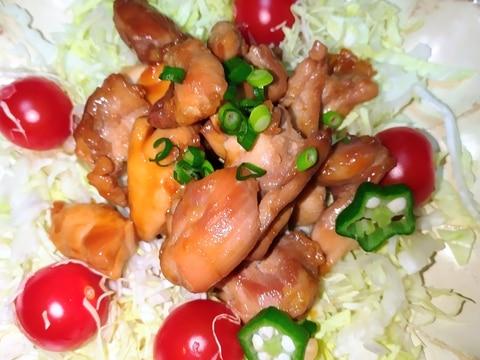 鶏肉☆ゴマ油ポン酢炒め