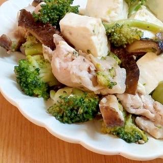 ♪ウェイパーで♡豚肉とブロッコリーの中華風炒め♪