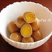 うずらの卵のゆで方~味付き