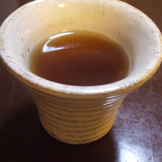 どくだみ茶の焼酎割り☆