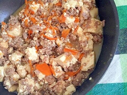 ひき肉で肉豆腐☆