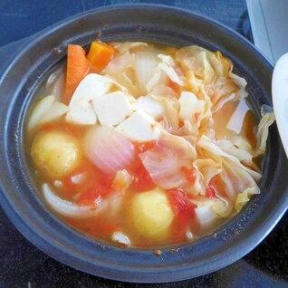 西のまるごと鍋☆野菜たっぷりトマト丸ごと鍋