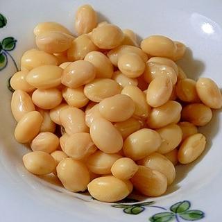 下ごしらえなし。炊飯器で簡単「水煮大豆」