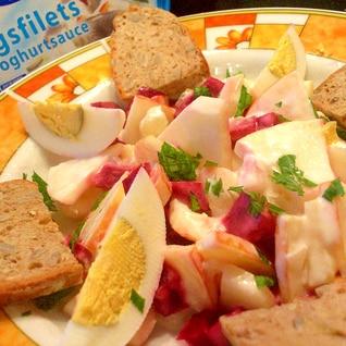 ☆フィンランド風☆マリネ鰊の健康サラダ♪