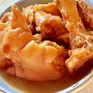コラーゲンたっぷり♡豚足のトロトロ煮