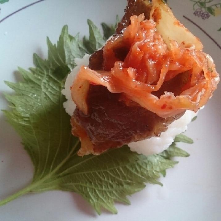 カルビ寿司