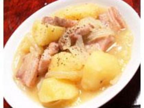 シンプルな塩味が美味しい!塩肉じゃが