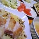 じゅわっとジューシー ☆鶏てりやきパスタ☆