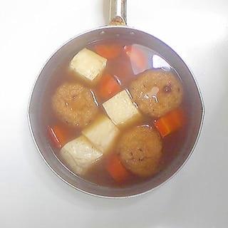 がんもと豆腐の煮物