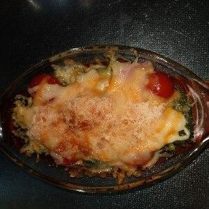簡単!焼きブロッコリー&トマトのチーズグリル