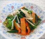 小松菜の味噌炒め