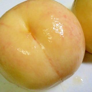 桃の皮のきれいな剥き方