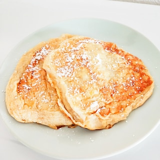 スフレバナナパンケーキ