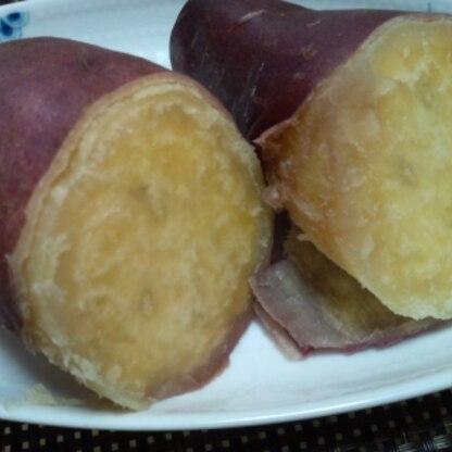 さつま芋はじっくり加熱する方が甘いと思っていたのですが、時短で作れてビックリでした!うまっ